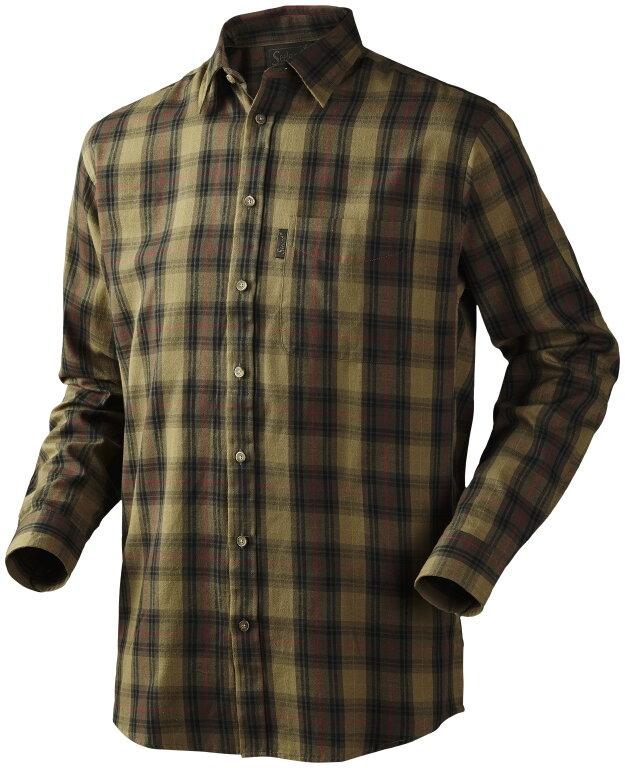 9fb2076ed194 ... Seeland Pilton pánska zelená flanelová košeľa