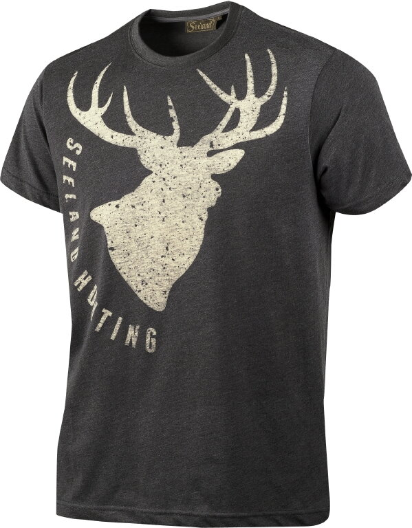 a58fc00dc74e Seeland Fading Stag poľovnícke zelené tričko
