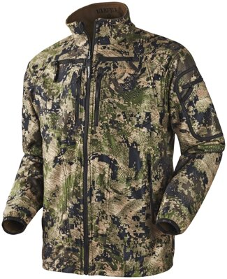 Härkila Q Fleece Optifade™ Camo flísová bunda